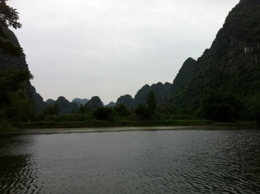 Halong Bay on land in Tam Coc.