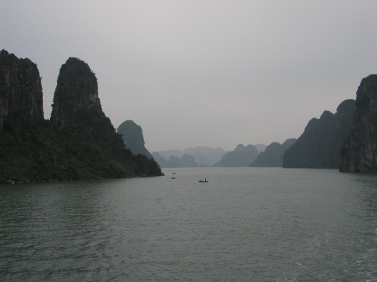 The Dragon Descending: Halong Bay.