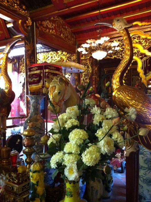 The White Horse Temple in Hanoi's Old Quarter.