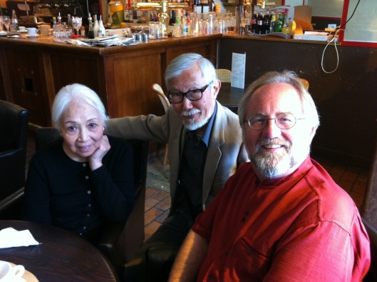 With Tiet and his wife in Paris, May 2011.