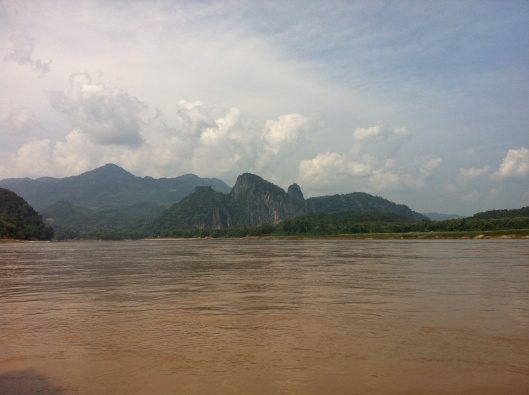 Close to journey's end on the Mekong.