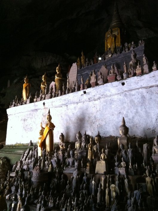 More of the 4,000 Buddhas of the Pak Ou Caves.