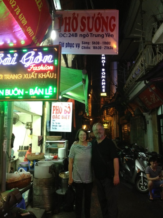 Many friends vote for Pho Suong as the best pho in Hanoi.