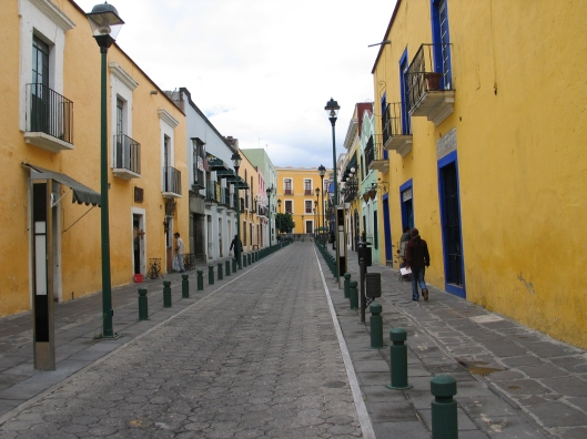 A street in Puebla, one of my Uncle's favorite cities.