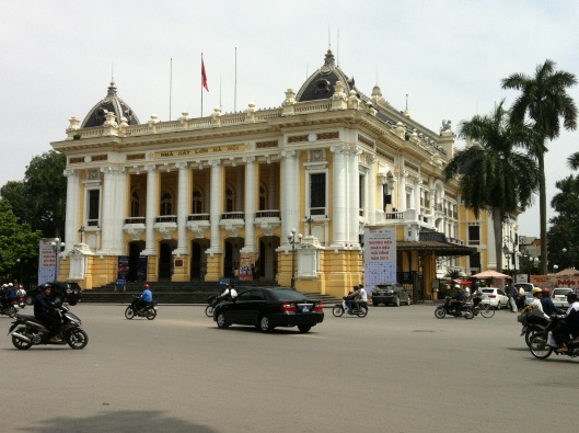 The Hanoi Opera House.