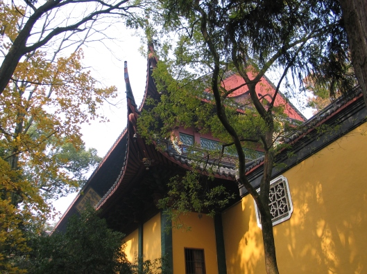 The glorious Lin Ying Temple in Hanzhou.
