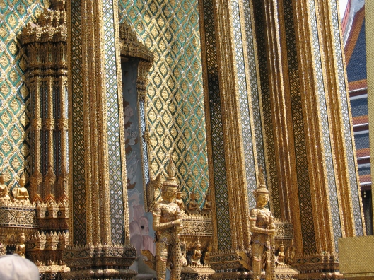 One small part of the Bangkok's Grand Palace.