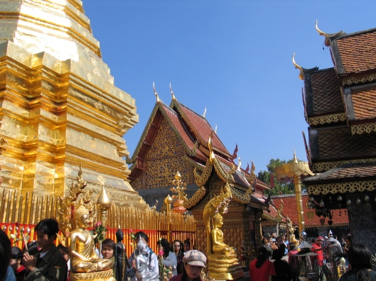 Wat Phra Tat Doi Suthep, the Vatican of Thai Buddhism.