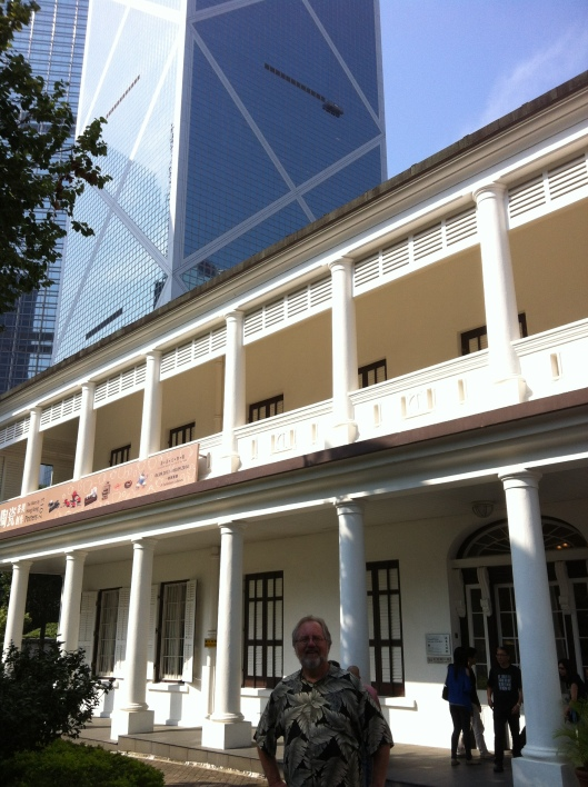 Hallowed ground for tea lovers: The Flagstaff House in Hong Kong Park.