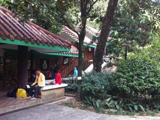 A meditation zone in Kowloon Park, Hong Kong.