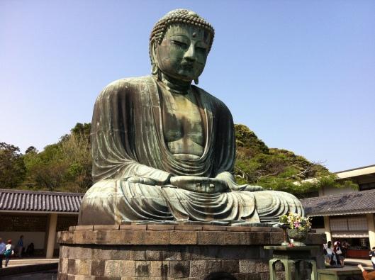 Maybe you'll encounter the Great Buddha at Kamakura.