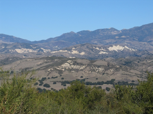 The start of the Santa Ynez Valley outside of Santa Barbara.