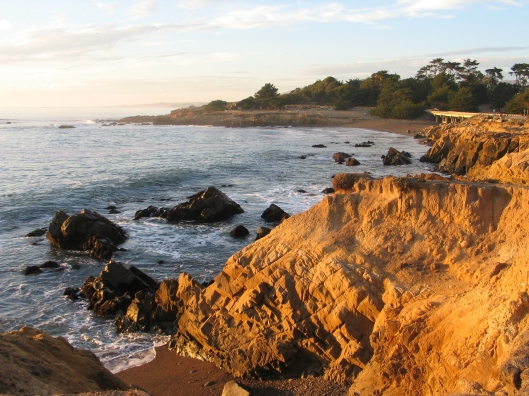 Moonstone Beach in Cambria, CA.