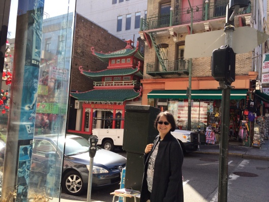 Always a fond memory of Uncle Lou as Jan walks in Chinatown.