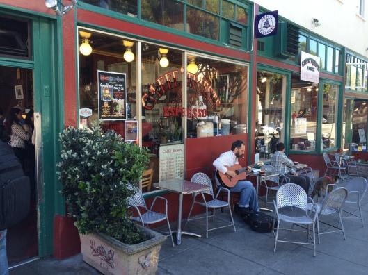 Caffe Trieste in North Beach.