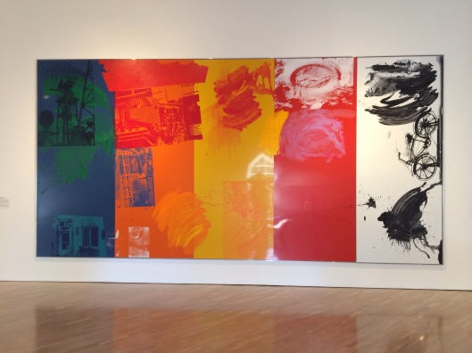 A Rauschenberg at the Hess Collection.