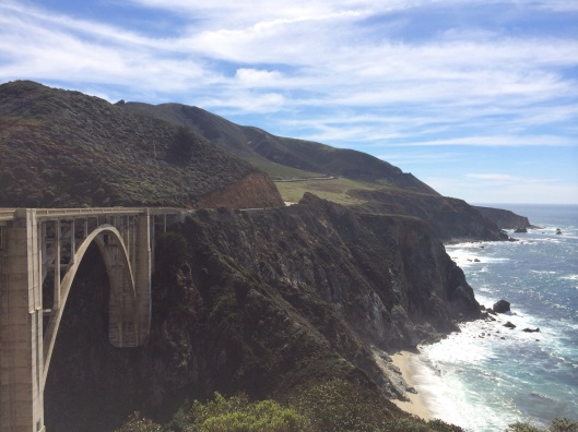 Big Sur and the Bixby Bridge.