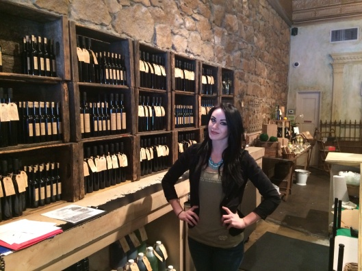 Hailie Emilin of St. Helena Olive Oil Co.