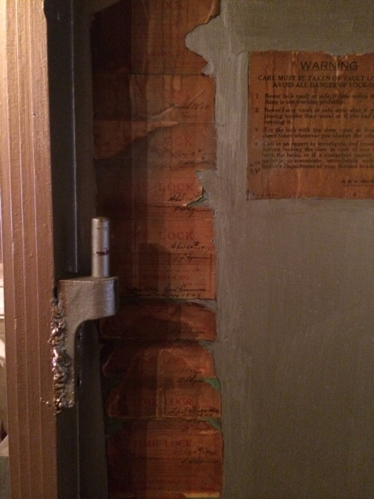 Building codes from 1845 now the St. Helena Olive Oil Co.