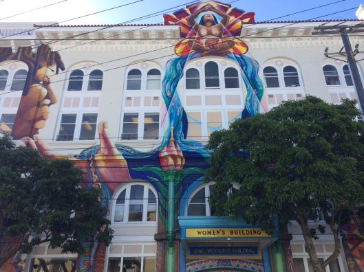 The front of The Women's Building in the Mission.