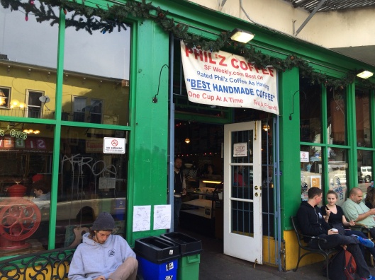 The original Philz in the Mission.