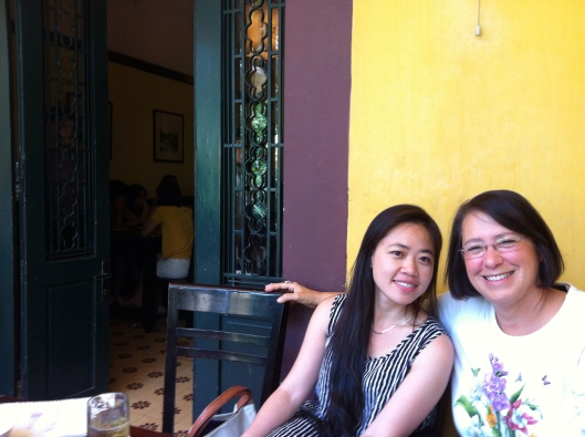 Jan and Phan Thi To Trinh in Hanoi this October.