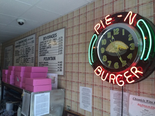A true gem: Pie 'N Burger in Pasadena.