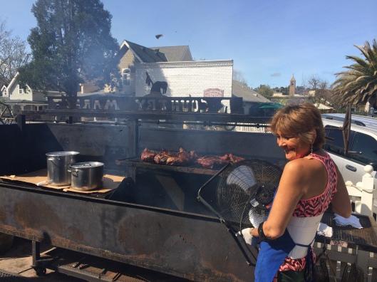 Santa Maria BBQ in Los Olivos.