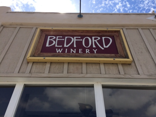 Don't miss Bedford Winery. The best stuff never leaves the state, mes amis.
