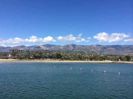 Santa Barbara from Stearn's Wharf.