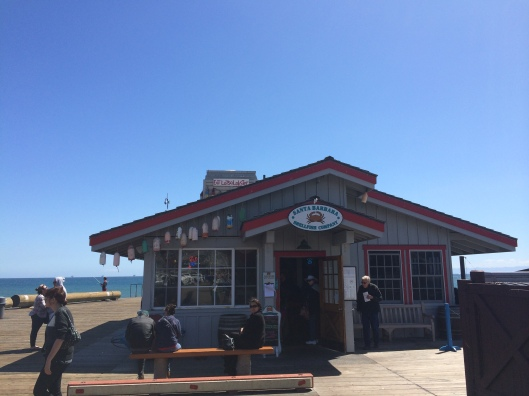 Santa Barbara Shellfish Co. was a Julia Child favorite.