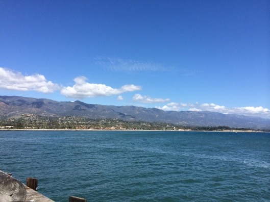 Beautiful Santa Barbara.