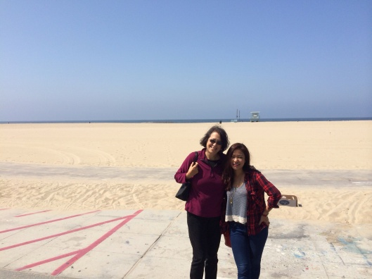 Venice Beach Easter with Jan Karlin & Do Huong Tra My.