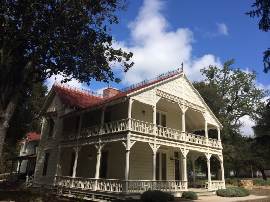 The 19th century house at Halter Ranch is lovingly restored.