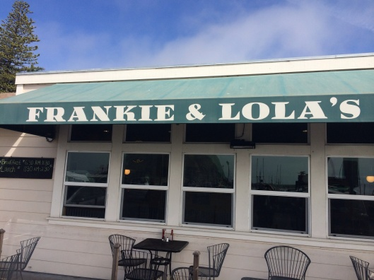Don't blame me if your miss a meal at Frankie & Lola's!