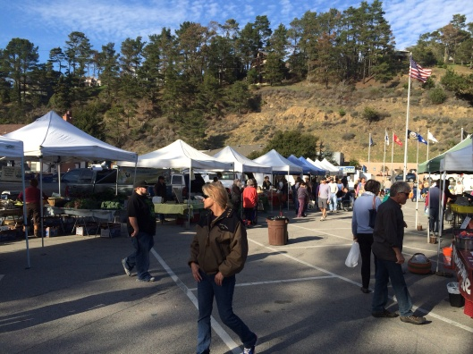 Check out the Cambria Friday afternoon Farmers Market.