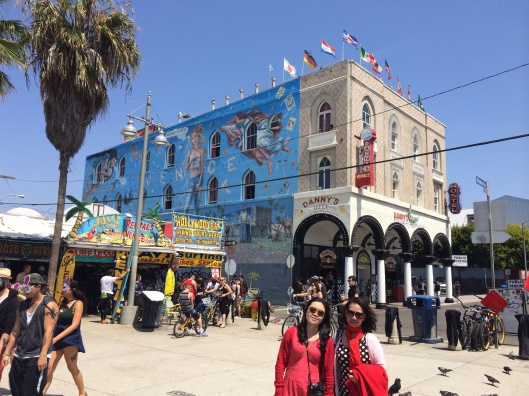Abbot Kinney's replica of the Doge's Palace on Windward.