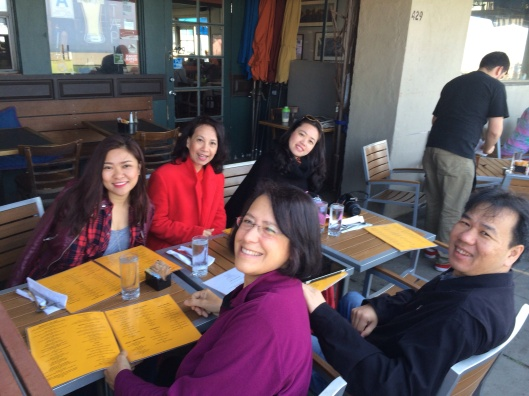 Easter Sunday brunch celebrating Song Hong's U.S. debut at Fig Tree.
