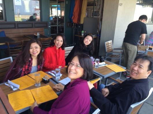 Easter Sunday brunch celebrating Song Hong's U.S. debut at Fig Tree.