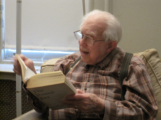 Elliott Carter at 101 in his Greenwich Village apartment.