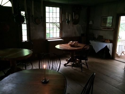A New England still life at the Old Inn.
