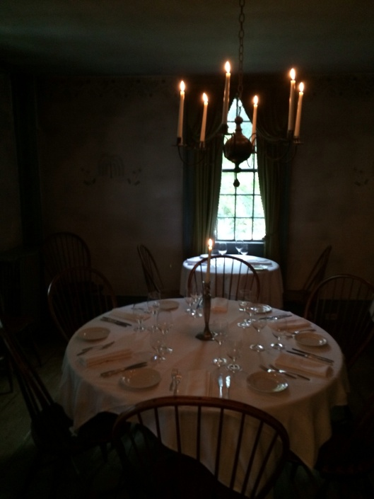 An Old Inn dining room,
