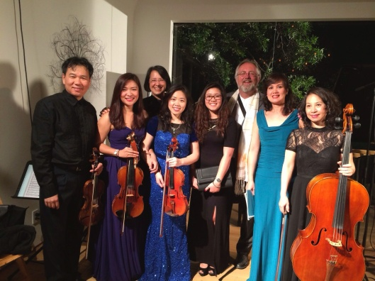 2014 Los Angeles debut of Song Hong Ensemble.