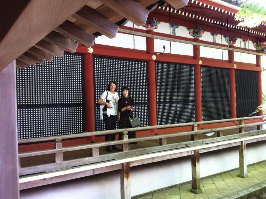 Old friends reunite at Eikando Temple in Kyoto.