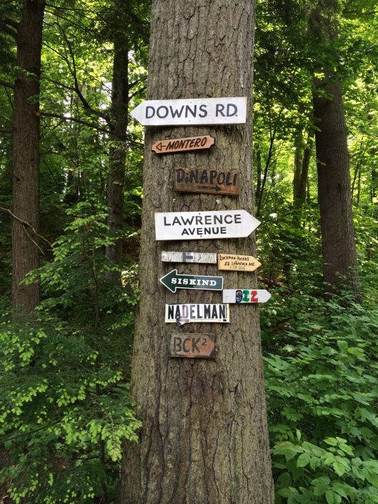 A helpful signpost.