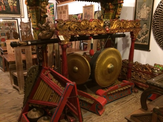 A glorious set of gongs from Bali.
