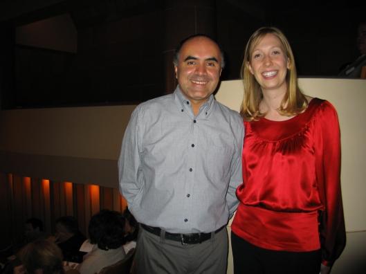 Ricardo Gallardo of Mexico City and Alison Bjorkedal of Los Angeles.