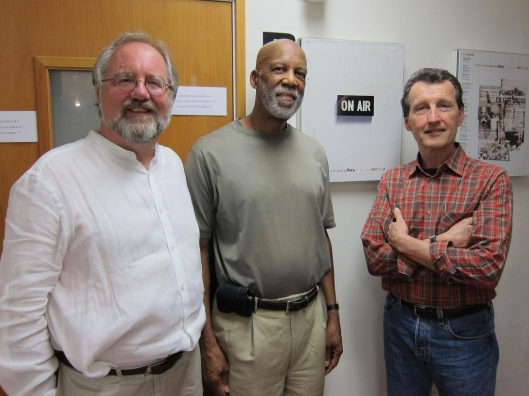 With Terrence Roberts and John Schneider of KPFK Pacifica Radio.