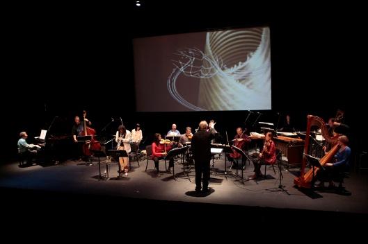 World premiere of Ten Freedom Summers at REDCAT in Walt Disney Concert Hall, October 2011.