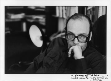 Georg Eisler by Henri Cartier Bresson.
